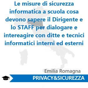 Le misure di sicurezza informatica a scuola cosa devono sapere il Dirigente  e lo STAFF