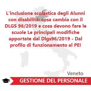 L'inclusione scolastica degli Alunni con disabilità: cosa cambia con il DLGS 96/2019 e cosa devono fare le scuole