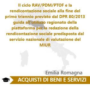 Il ciclo RAV/PDM/PTOF e la rendicontazione sociale alla fine del primo triennio previsto dal DPR 80/2013