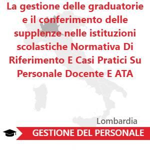 La Gestione Delle Graduatorie E Il Conferimento Delle Supplenze