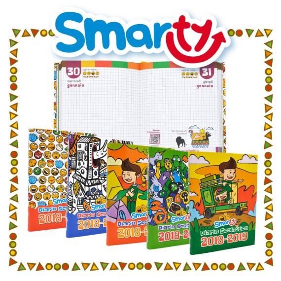 Diario scolastico Smarty Anno scolastico 2018/2019