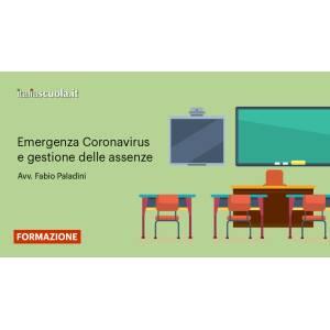 Webinar - Emergenza Coronavirus e gestione delle assenze