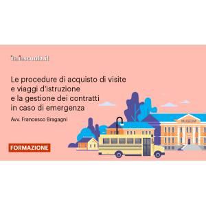 Webinar - Le procedure di acquisto di visite e viaggi d'istruzione e la gestione dei contratti in caso di emergenza