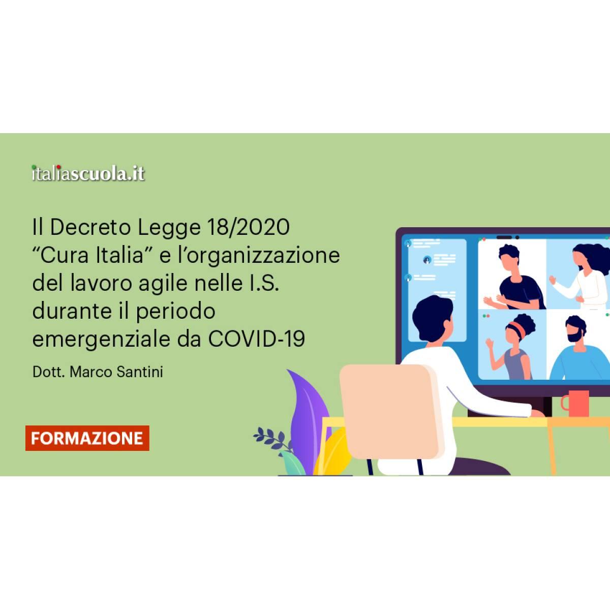DECRETO LEGGE CURA ITALIA - REG.