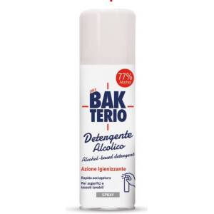 Bakterio Spray Igienizzante Alcolico