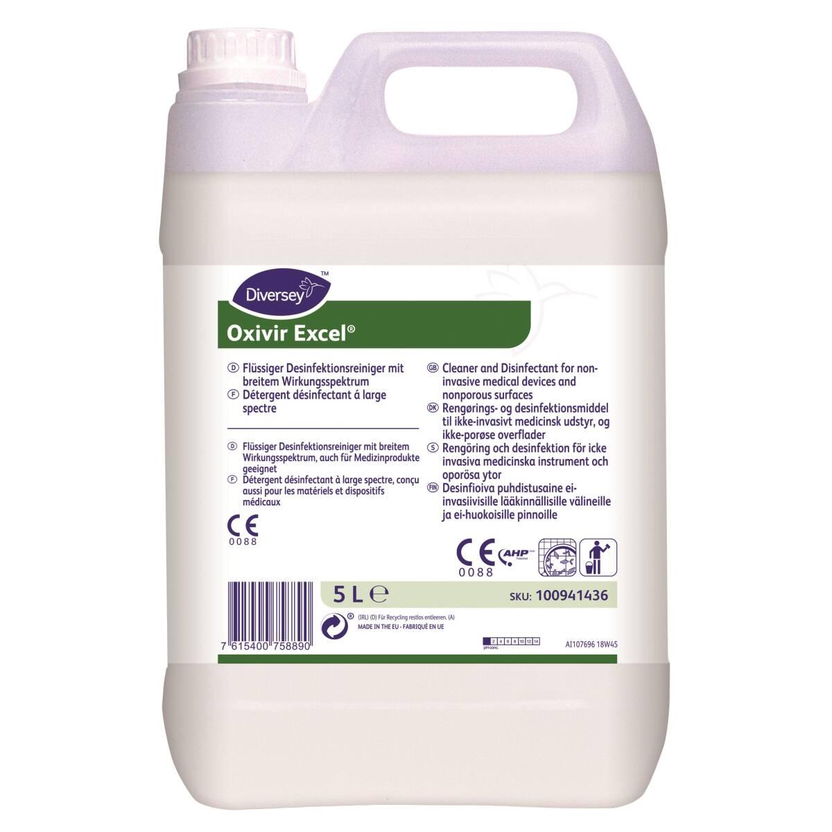 Detergente concentrato Oxivir excel